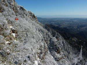 雪の御在所岳と樹氷散策