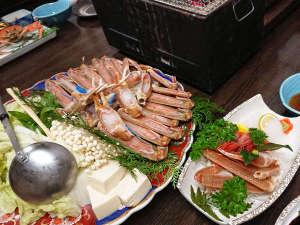【地蟹フルコース】タグ付地蟹を使用!蟹づくしを堪能