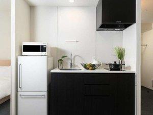 全室にゆったりとしたキッチンをご用意しています。
