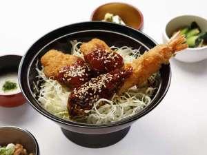 ◆ご当地朝食味噌カツ丼