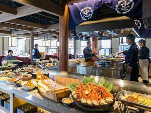 【朝食】和洋約60種類のブッフェ!(一例)