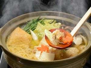 あったかお鍋と天然100%の温泉で、冷えた身体もポッカポカです♪