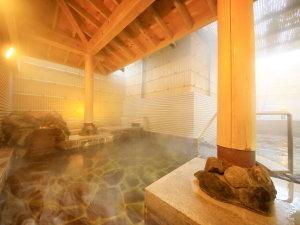 【温泉大浴場】男女ともに露天風呂もございます。