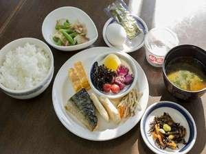 朝食★和食盛り付け例★