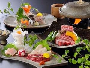 【山形屋のお料理一例】地元野菜を取り入れた創作和食膳の一例です。
