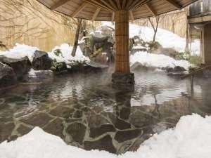 寒い冬だからこそ露天をお楽しみください.