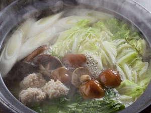 比内地鶏鍋