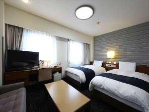 【ツインルーム】広さ26.3平米 / ベッド幅113cm×2台
