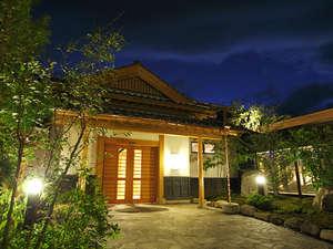 季の庭玄関「夜景」