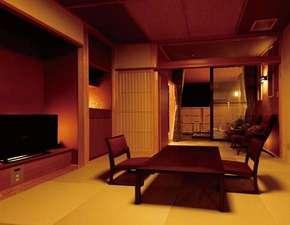 和室10畳(露天風呂・洋式トイレ)