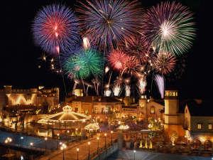 【ポルトヨーロッパ】花火と音楽のナイトファンタジックショー☆「スターライトイリュージョン」