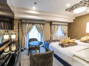 デラックスツインルーム/22平米/ベッド幅120cm×2台