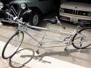 タンデム自転車~ふたりで乗ると楽しさ倍♪