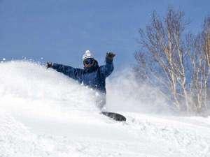 大雪が降った翌朝は、まだ誰も滑っていない新雪のパウダーランを楽しもう!