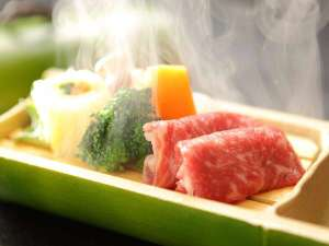 『群馬伝統野菜と上州牛せいろ蒸し』