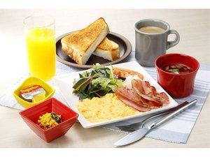 【朝食】ふわとろスクランブルエッグ朝食 3階 和ごはんとカフェ「Chawan」7時~10時(ラストイン9時30分)