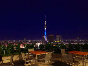 T terrace(14F)夜