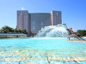 屋外プールは期間限定開放★北海道の短い夏をお楽しみ下さい。