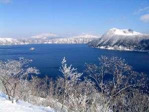 摩周湖 冬