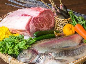 『白馬 山の和食コース』信州の自然の恵みをアレンジした、白馬らしい創作和食です。