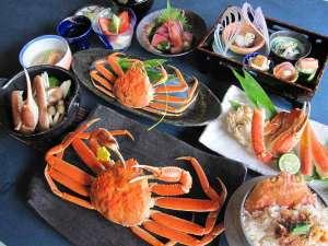 【越前蟹蟹満喫会席】蟹のおいしさを思う存分堪能してください!