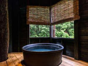 【露天付客室】専用の露天風呂でぜいたく気分♪