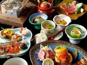 【夕食】一品一品に真心こめた会席料理/一例