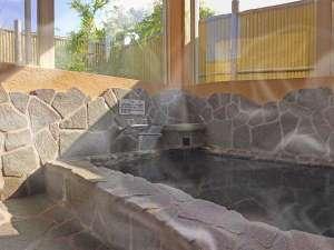 【貸切岩風呂】使いやすさを第一に考えた貸切風呂です。