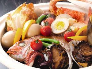 【秋限定】紅葉鯛姿造りと特選宝楽焼会席≪料理イメージ≫