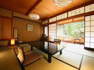 【和室10畳一例】新緑の美ヶ原温泉を望むお部屋