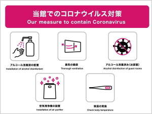 【当館での新型コロナウィルス対策につきまして】ご理解とご協力をお願い申し上げます。