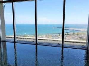 【展望大浴場】眺めを愉しみながら湯浴みを