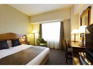 【モダレットセミダブルルーム】ベッド幅140cm お部屋の広さ17.5平米カップルにオススメ!
