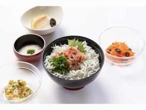 ■潮の香りが食欲そそる『釜揚げシラスと桜海老丼』