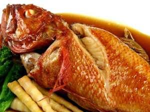 ◆オーナー厳選素材のきんき。煮つけが美味い!
