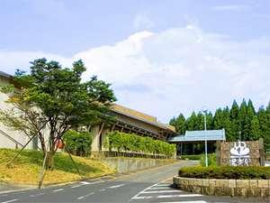 福井の紅葉スポット近くの温泉宿・紅葉露天のある宿県 公共の宿 しきぶ温泉 湯楽里