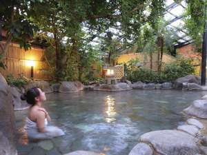 泉質は熱川温泉、ナトリウムー塩化物、硫酸塩。 pH8.4の弱アルカリ性で美肌効果も期待できます!