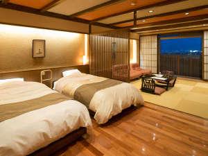 ◆準特別室-久住-◆人にやさしい段差のないバリアフリータイプの客室です。