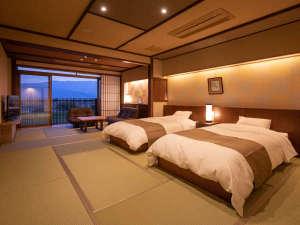 ◆準特別室-古処-◆新しくリニューアルした客室。ベッドルームが加わり、より快適な和モダン空間に♪