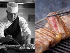 【極上のひととき】お口の中でじゅっわ~っ♪とトロける、料理長厳選の九州産特選和牛は絶品!