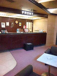 2階フロント・ロビー◆フロントは24時間対応しております。