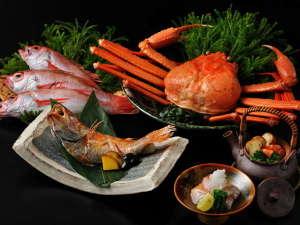 【秋の特別会席】旬の紅ずわい蟹とのどぐろを味わう季節限定の会席料理