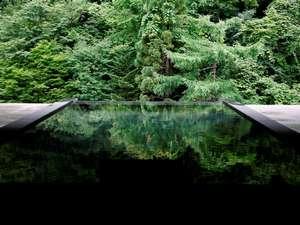 四季折々の美しい庭園を眺める事のできる雲井の湯
