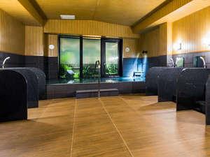 大浴場『旅人の湯』ご利用時間<15:00-2:00、5:00-10:00>広いお風呂でごゆっくり足を伸ばして下さい!