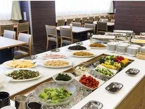 【ご朝食】和洋ブッフェをご用意。お好きなものをお好きなだけどうぞ!