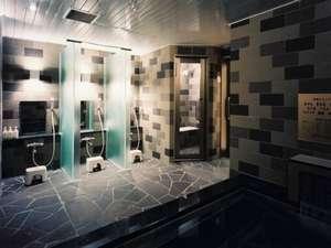 サウナが付いた宿泊客専用の浴室