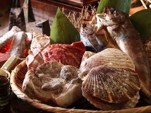 【お食事処 北番屋】メインの焼き物食材は4種からお選びいただけます(イメージ)