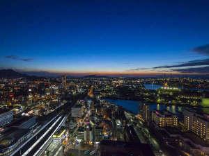 客室からは北九州の夜景をお愉しみいただけます。