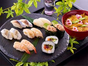 【3月~5月 春の料理フェア】『7種の寿司と穴子のちらし寿司』※イメージ