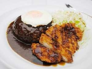 夕食レストランの新メニュー「上田カリー」です!是非ご賞味下さい。